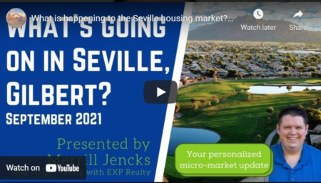 What is happening to the Seville housing market?? - Seville Market Update September 2021
