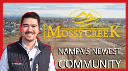 The Newest Community in Nampa, Mossy Creek