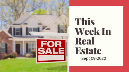 This week in real estate 09-09-2020