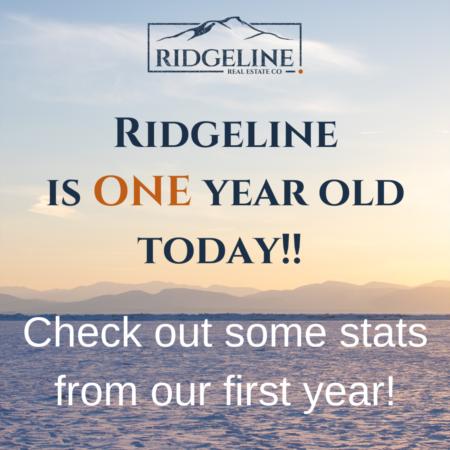Ridgeline is one year old!!