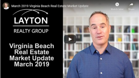 Virginia Beach Real Estate Market Update, March 2019