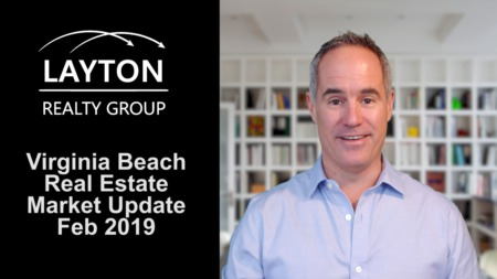 Virginia Beach Real Estate Market Update, February 2019