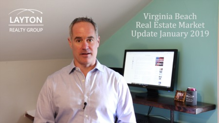 Virginia Beach Real Estate Market Update, January 2019
