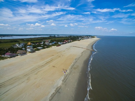 Peace and Quiet Prevail...at Coastal Delaware's Less Known Beaches
