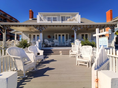 Smell The Salt Air Daily From This Fabulous Beachfront Home In Ocean City