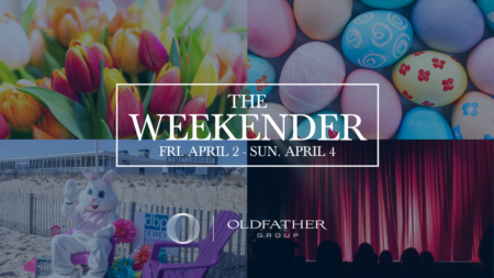 Colorful Tulips and Even More Colorful Easter Eggs are in Focus During the First Weekend of April in the Coastal Region