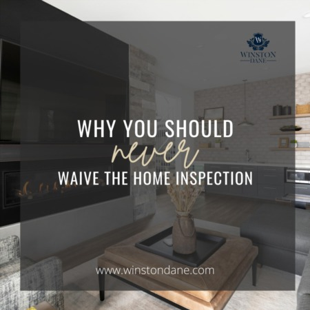 Why You Should Never Waive Home Inspection