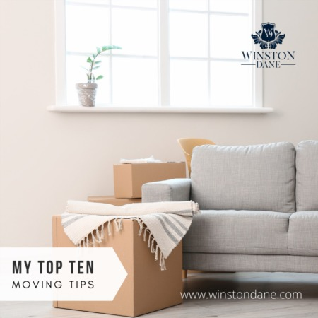 My Top 10 Moving Tips