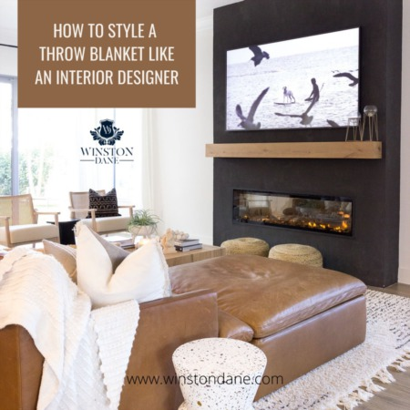 How To Style A Throw Blanket Like An Interior Designer