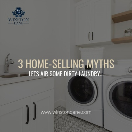 3 Home Selling Myths