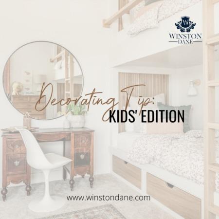 Decorating Tip: Kids Edition