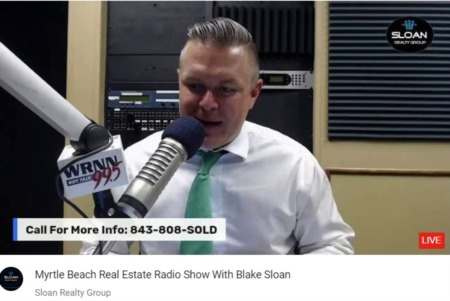 Myrtle Beach Real Estate Radio Show With Blake Sloan 8-14