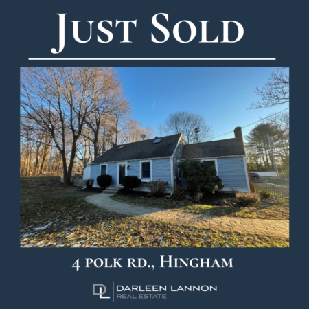 Just Sold! 4 Polk Rd.