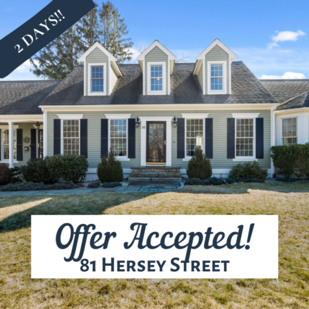 Offer Accepted: 81 Hersey St.