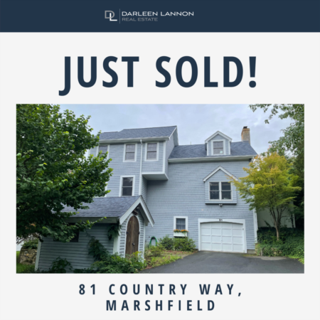 Just Sold 81 Country Way, Marshfield