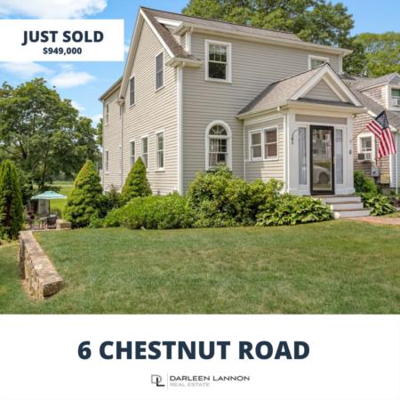 Just Sold- 6 Chestnut Road