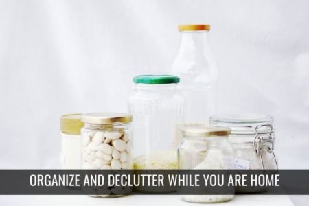 Organize and Declutter your home during the Holidays