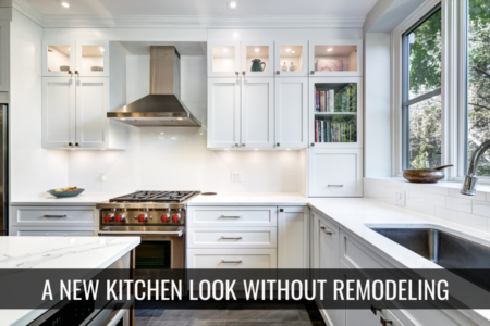 A new kitchen without remodeline