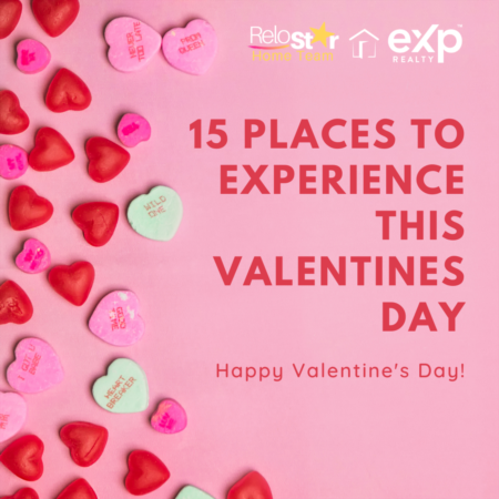 15 places for Valentines day with your special someone
