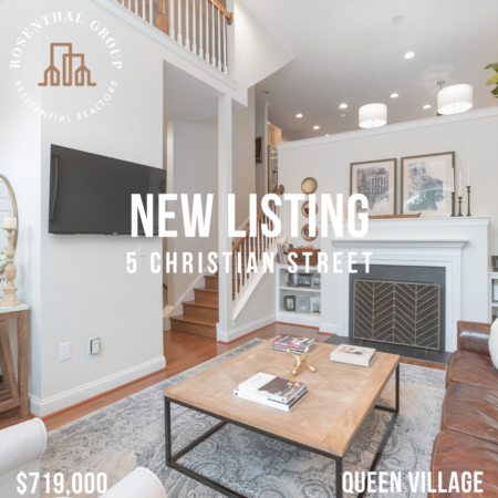 Luxurious NEW Listing In Queen Village With Garage Parking (Meredith School Catchment)