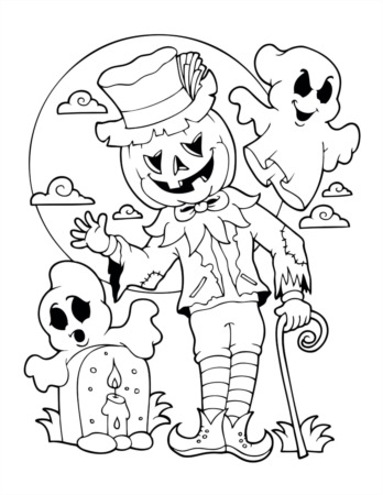 2020 Halloween Coloring Contest!