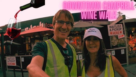 Downtown Campbell Wine Walk