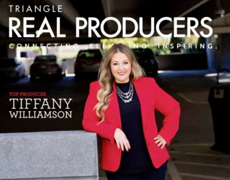 January 2021 Top Producer-Tiffany Williamson-Triangle Real Producers