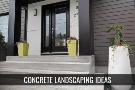 Concrete Landscaping Ideas - Is Xeriscape the new Landscape?