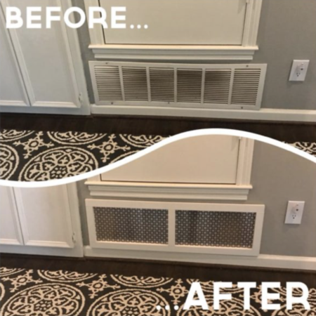 DIY – Return Vent Cover!