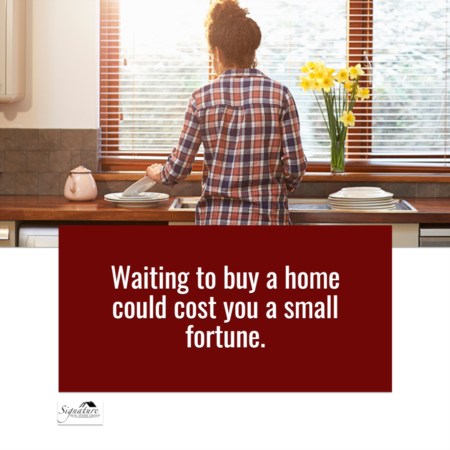 Why Waiting to Buy a Home Could Cost You a Small Fortune
