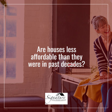 Are Houses Less Affordable Than They Were in Past Decades?