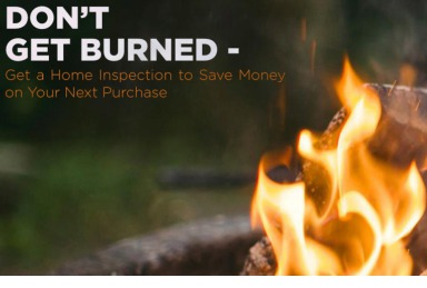 Don't Get Burned - Hire a Home Inspector