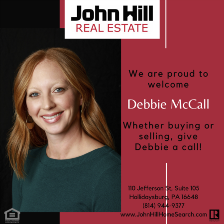 Congratulations and Welcome to our Team Debbie McCall!