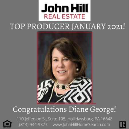 Top Agent Top Producer for January 2021