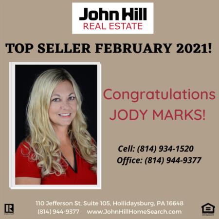 Top Seller February 2021