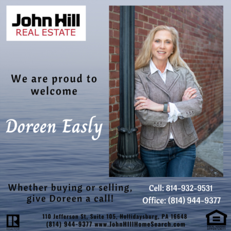 Congratulations and Welcome to our Team Doreen Easly!