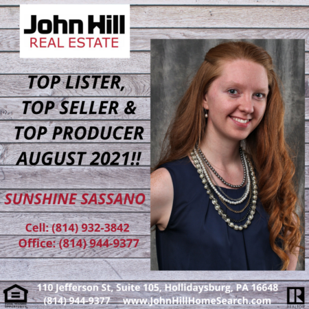 TOP AGENT FOR AUGUST 2021