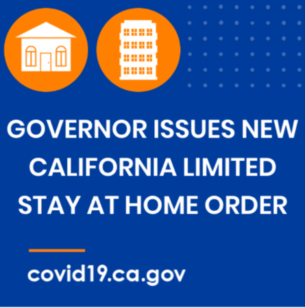 California Health Officials Announce a Regional Stay at Home Order Triggered by ICU Capacity