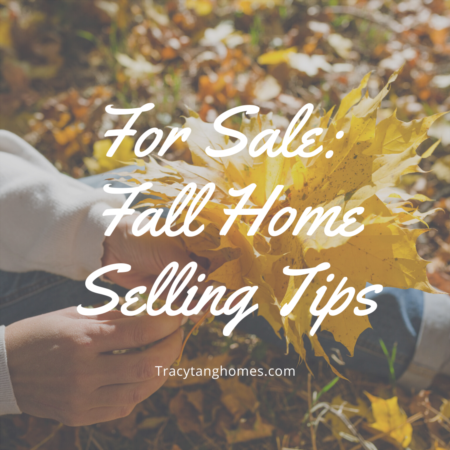 For Sale: Fall Home Selling Tips