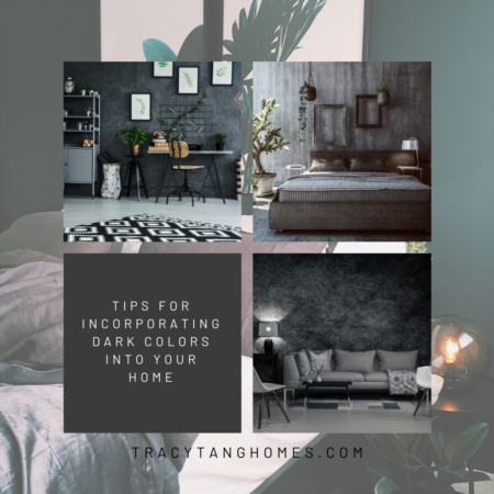 Tips for Incorporating Dark Colors into Your Home