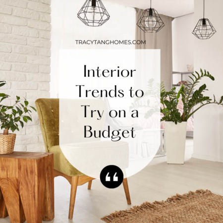 Interior Trends to Try on a Budget