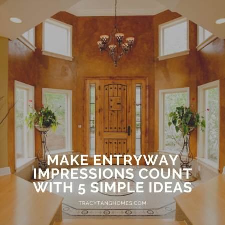 Make Entryway Impressions Count with 5 Simple Ideas