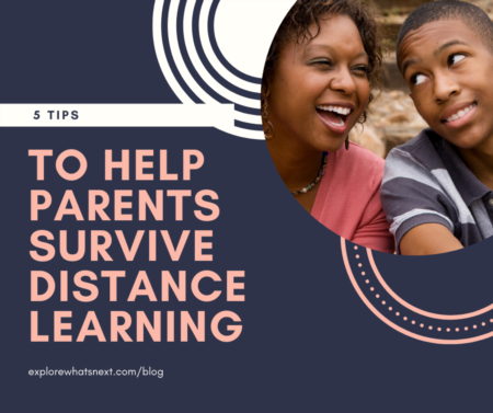 5 Tips to Help Parents Survive Distance Learning