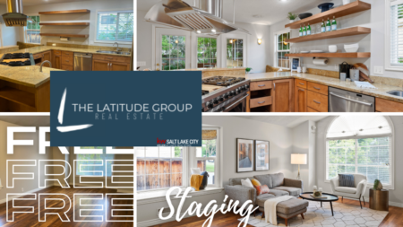 FREE HOME STAGING for Salt Lake City home seller's