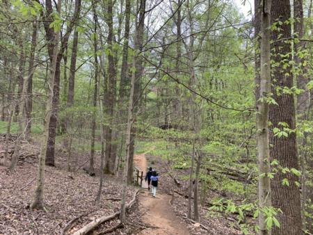 Hiking and Biking at the Fountainhead Regional Park