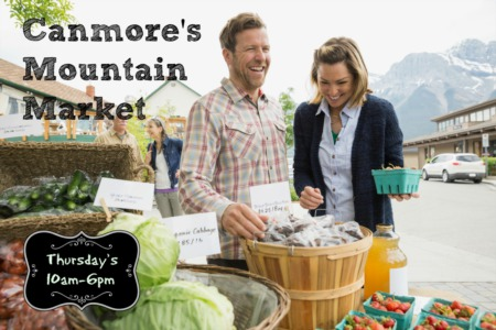 Canmore Mountain Market – Warmly Welcomed Back!
