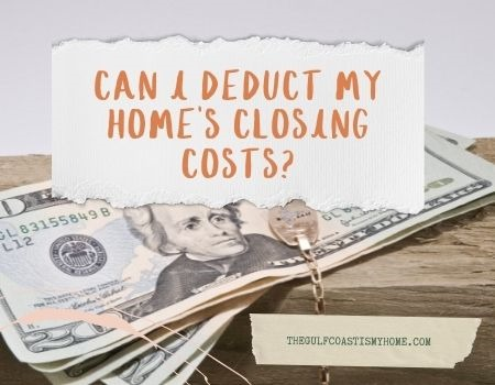 Can I Deduct My Home's Closing Costs?