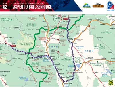 USA Pro Cycling Challenge in Breckenridge - The Course is Announced