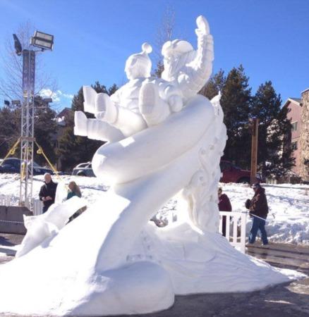 Team Breckenridge Wins International Snow Sculpture