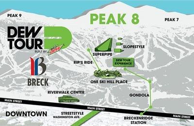 Winter Dew Tour Mountain Championships Returning to Breckenridge